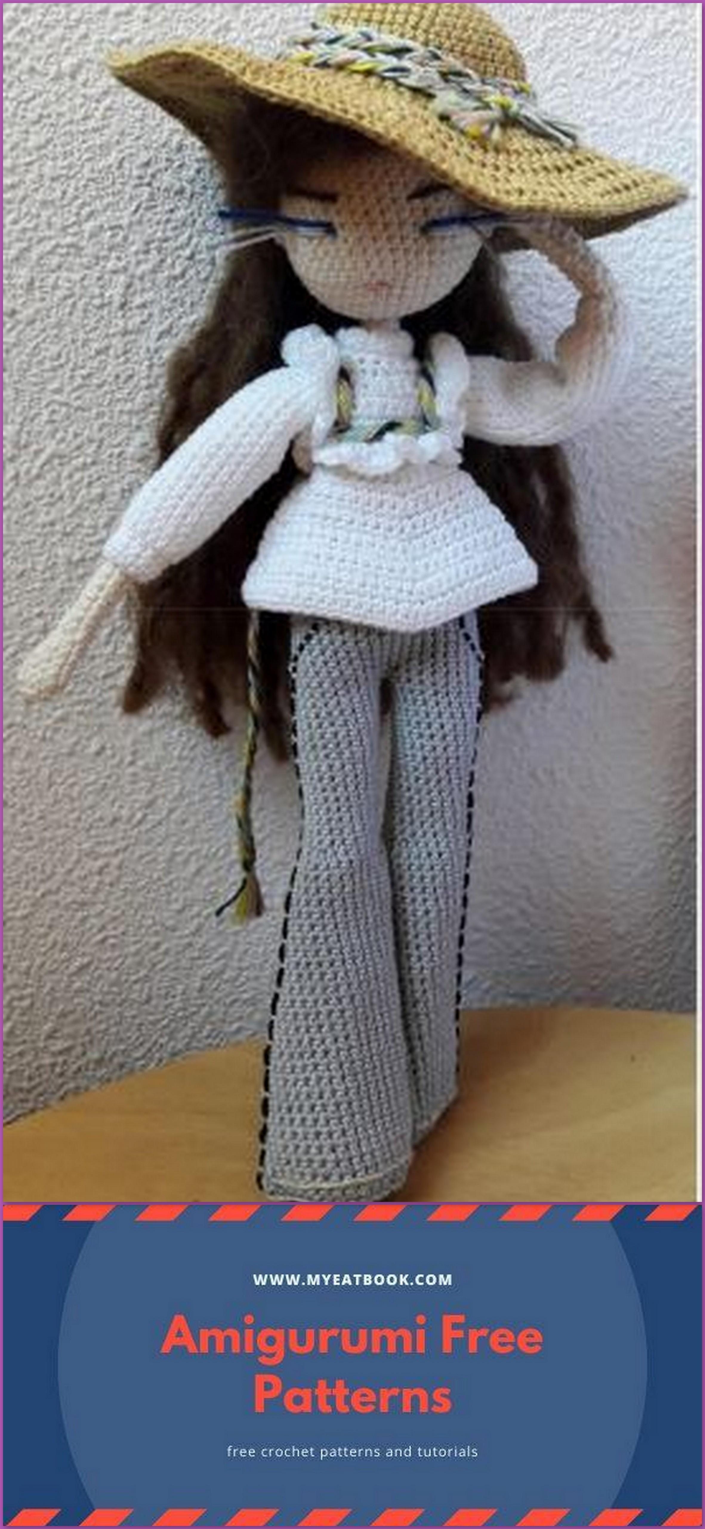 Amigurumi Doll Free Crochet Pattern - Amigurumi Free Pic2re | 5120x2363